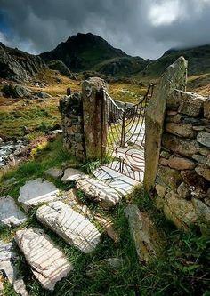 Gateway, Snowdonia, North Wales, England