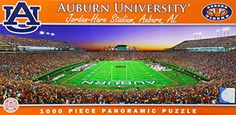 MasterPieces NCAA Auburn Tigers Stadium Panoramic Jigsaw Puzzle 1000Piece -- Find out more about the great product at the image link.(It is Amazon affiliate link) #instagood