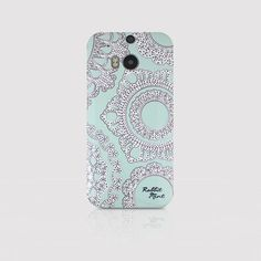 HTC One M8 Case  Lace & Mint P00006 by rabbitmint on Etsy, $20.00