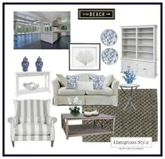 Hamptons Style has the largest range of hamptons style furniture in Australia. Browse our store & buy online Hamptons Decor, The Hamptons, Interior Paint Colors For Living Room, Beach House Decor, Home Decor, Style At Home, Decoration, House Styles, Hampton Style