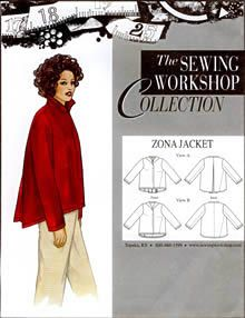 Birch Steet Clothing : Sewing Workshop Collection / Zona Jacket