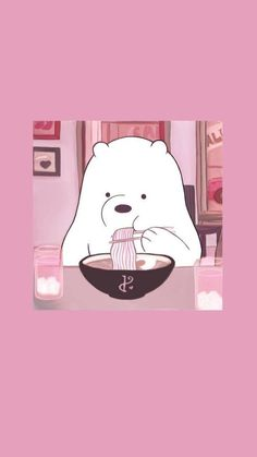 Cute Panda Wallpaper, Soft Wallpaper, Cartoon Wallpaper Iphone, Disney Phone Wallpaper, Bear Wallpaper, Iphone Background Wallpaper, Aesthetic Pastel Wallpaper, Kawaii Wallpaper, Aesthetic Wallpapers