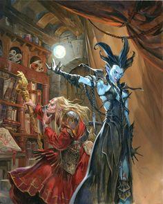Phrrmp's Phantasies | gameraddictions:   artist: Jesper Ejsing set 1