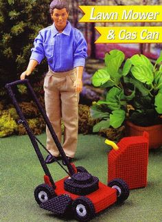 Fashion doll lawnmower - Carey Richards - Álbuns da web do Picasa