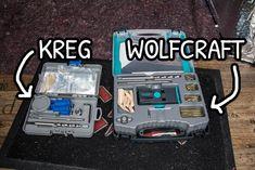 Kit pocket hole della Kreg e della Wolfcraft    #pockethole #foritasca #woodworking  #woodworker #diyhomedecor #diy #kregjig #wolfcraft