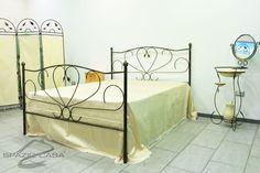 Singolo Spazio Casa Letto in Ferro battuto Rossana Ferro Rete 80x190