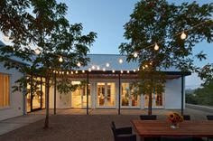 Outdoor patio or yard lighting makes your summer parties transition easily from day to night!