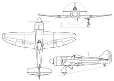 Image result for WW2 planes blueprint
