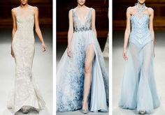 fashion-runways: TONY WARD Couture Spring 2015 • Hero That Never Carried The O, Guess I'm Just Her