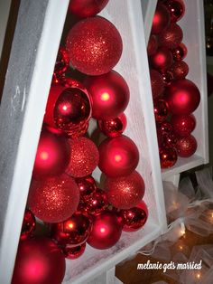 DIY: Floating Ornament Christmas Trees