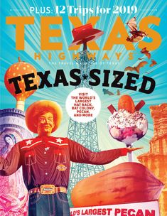 12 Trips for 2019 and Where to Find the World's Largest in Texas Guadalupe Peak, Sean Mccabe, Lone Star State, Travel Magazines, Art Day, Insta Art, Pop Art, Texas Things, Illustration Pictures