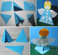 Art For Kids, Crafts For Kids, Origami, We Can Do It, Elementary Art, Christmas Projects, Nativity, Art Projects, Creative