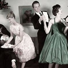 retro cocktail parties - Google Search