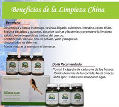 El mejor programa la limpiar tu organismo de toxinas y parasitos Natures Sunshine, Aloe, Shampoo, Personal Care, Bottle, Health Cleanse, Lungs, Body Odor, Self Care