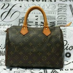 I just discovered this while shopping on Poshmark: PRICE FIRM! LV Speedy 25 Monogram Satchel VTG. Check it out!  Size: Speedy 25