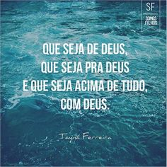 #que #seja #Deus