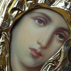 . Blessed Mother, Santa Maria, Ikon, Madonna, Catholic, Spirituality, Faith, Inspiration, Byzantine