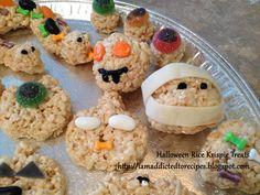 Addicted to Recipes: Rice Krispies Halloween Treats!