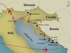 Contact us now to book your 14 Day Dalmatian Isles Croatia & Slovenia your and save $400 per couple! In the Adriatic Europe's rich history meets Mediterranean splendor. Here sea breezes kiss ancient medieval cities. Sunlight and surf bathe magnificent islands. Pristine lakes sparkle amidst sylvan forests and alpine beauty. Discovery Tours shows it all to you from our insightful small-group perspective and you will do more than just visit the historic gems of Dubrovnik Split and Venice! Don't…