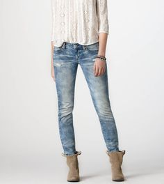 A&F High Rise Super Skinny Jeans | Spotted on @popsugarfashion ...