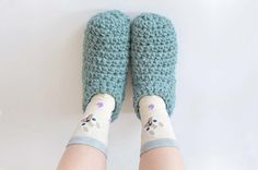 El tutorial mas completo para tejer pantuflas a crochet [Patron de tejido] - Marina Torreblanca Blog
