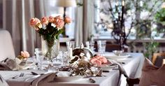 New year's eve by Oscar & Clothilde Eve, Table Settings, Place Settings, Tablescapes
