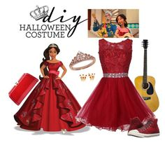 """princess"" by latinaconestilo ❤ liked on Polyvore featuring Eternally Haute, Converse, MKF Collection, halloweencostume and DIYHalloween"