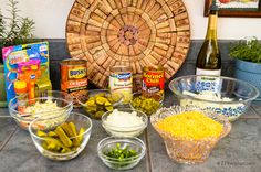 Labor Day Cookout…..Host A Hot Dog/Ice Cream Bar….Easy