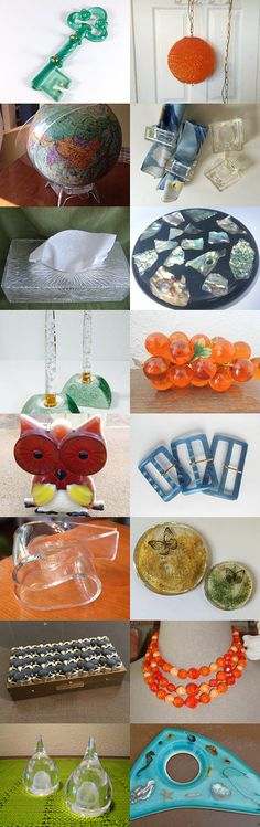 Lovely Lucite Listings by Sara on Etsy--Pinned with TreasuryPin.com