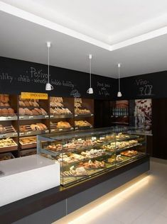 Home Decorators Collection Blinds Bakery Shop Interior, Bakery Shop Design, Coffee Shop Interior Design, Coffee Shop Design, Restaurant Interior Design, Cafe Design, Design Design, Bakery Store, Bakery Cafe