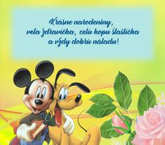detské priania Mickey Mouse, Disney Characters, Fictional Characters, Michey Mouse, Disney Face Characters