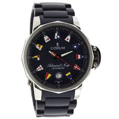 Corum Stainless Steel Automatic Admiral's Cup Wristwatch