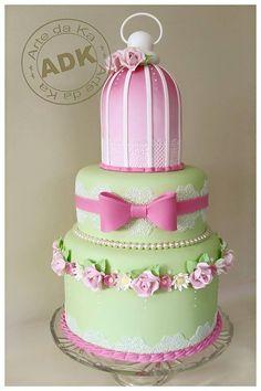 garden cake - Jardim