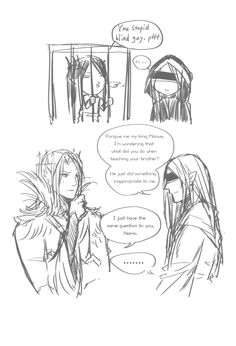 1.Mandos insulted by Melkor and asked Manwe for a method. *pffffff* 2.When Irmo found his garden ruined. (in the lost tales 8 : But Lorien sat and wept in a grove of treesbeneath the shade of Taniquetil and looked upon his gardens stretching beneath,...