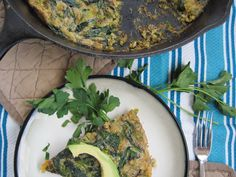 #paleo Brussels Sprouts and Spinach Truffle Frittata