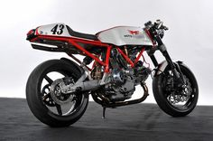 Moto Brilliance Ducati 1000 Cafe Racer ~ Return of the Cafe Racers