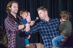Jared, Jensen, Tom, and Shep