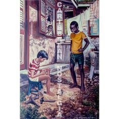 Making Top by David Moore | Caribbean Art for the Caribbean Soul