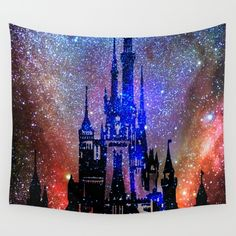 Fantasy Disney. Nebulae Wall Tapestry by Guido Montañés. Worldwide shipping available at Society6.com. Just one of millions of high quality products available.
