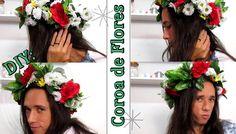 DIY: Coroa de Flores   Flower Headband   Por Vaan Rabelo