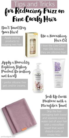Tips and Tricks for Frizz Free Curls