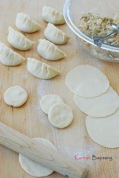 Saewu Mandu (Shrimp dumplings) | Korean Bapsang