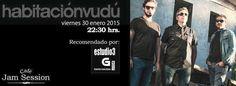Habitación Vudú en Cafe Jam Session, Ourense music musica concerto concierto