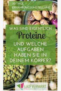 Welche Aufgaben hat Protein im menschlichen Körper? Worin kommt Protein vor? Und warum solltest du zu jeder Mahlzeit eine Proteinquelle essen? Erfahre alles im neuen Artikel zu Tag 18 der 30 Tage Ernährungsumstellung.