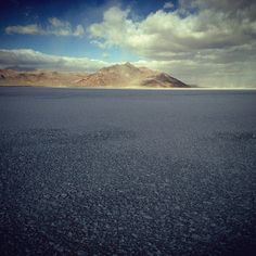 Bonneville Salt Flats, Utah..one of the most interesting and bizarre places I've ever been...