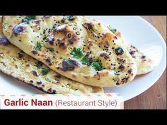 Garlic Naan Restaurant Style - No Tandoor, No Oven, No Yeast. - YouTube