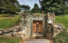 how to build a root cellar above ground - Google otsing