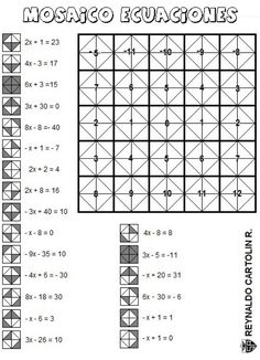Algebra Solving One and Two Step Equations Mazes FREE