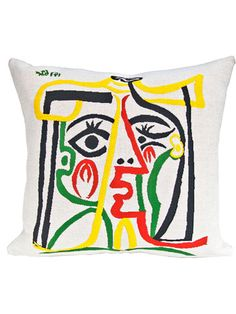Jules Pansu is the first and only weaver with the rights to create a collection from the paintings of Pablo Picasso. Spruce up your bedroom with this piece (I'm obsessed), featuring a portrait of the late artist's wife Jacqueline. $116, The Picasso Collection by Jules Pansu; emiliorobba.com