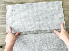 DIY Envelope Pillow Cover Tutorial (Step by Step with Photos) Diy Throw Pillows, Couch Pillow Covers, Diy Couch, Decorative Pillow Covers, Couple Gifts, Decoration, Design Projects, Nook, Crafts